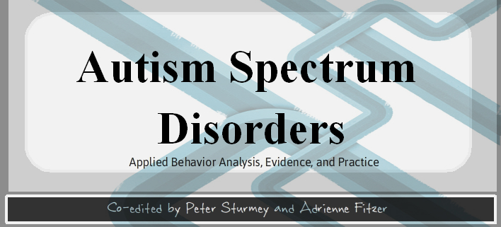 Download Autism Spectrum Disorders Applied Behavior Analysis